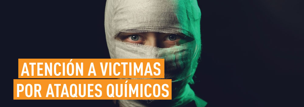 ATENCIÓN A VÍCTIMAS POR ATAQUES QUÍMICOS